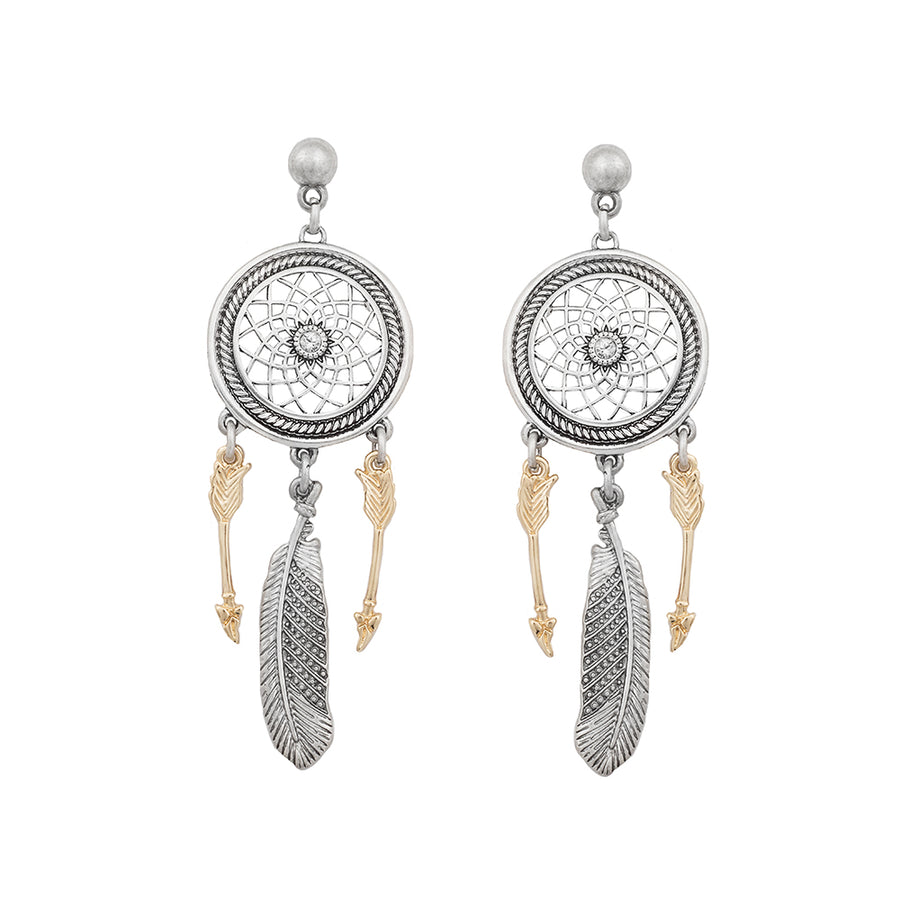 Calmia Dreamcatcher Earrings