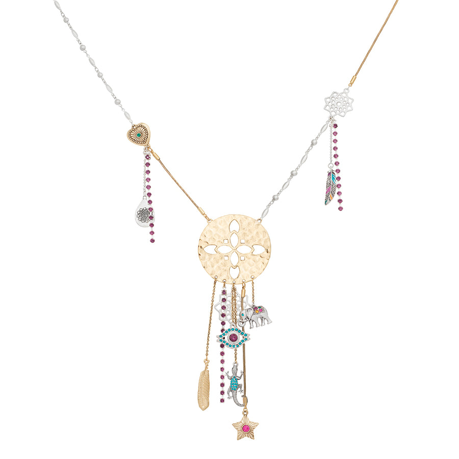 Marrakech Morrocan Summer Charm Necklace