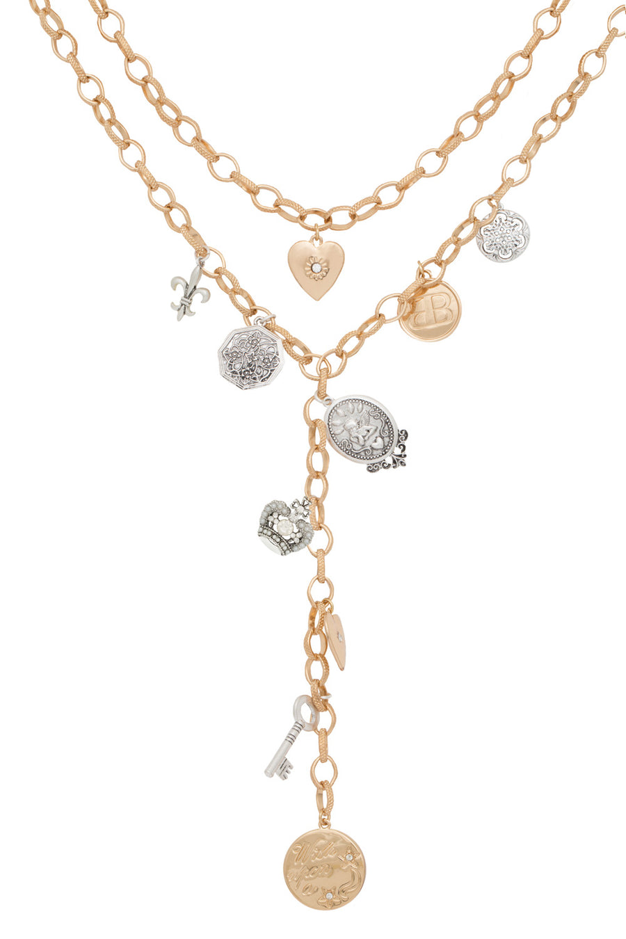 Suzanne Chunky Layered Heritage Necklace