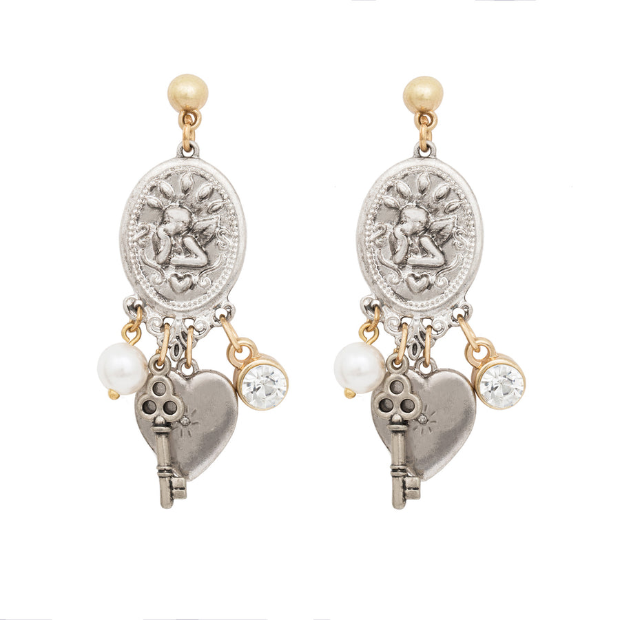 Marianne Statement Heritage Earrings