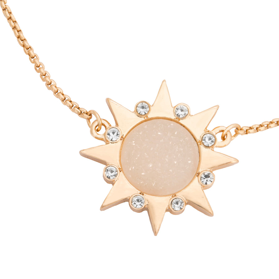 Kate Thornton 'You Are My Sunshine'  bracelet in Gold
