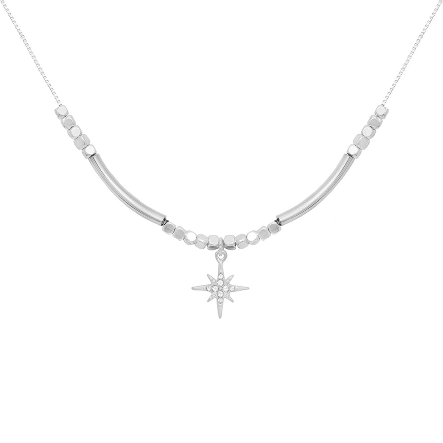 Eternity Delicate Single Star Necklace