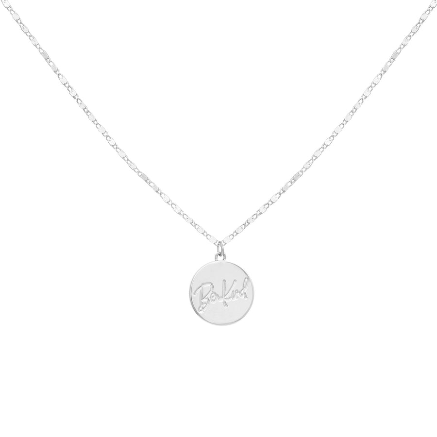 Kate Thornton Silver Openess Sun Ray Necklace