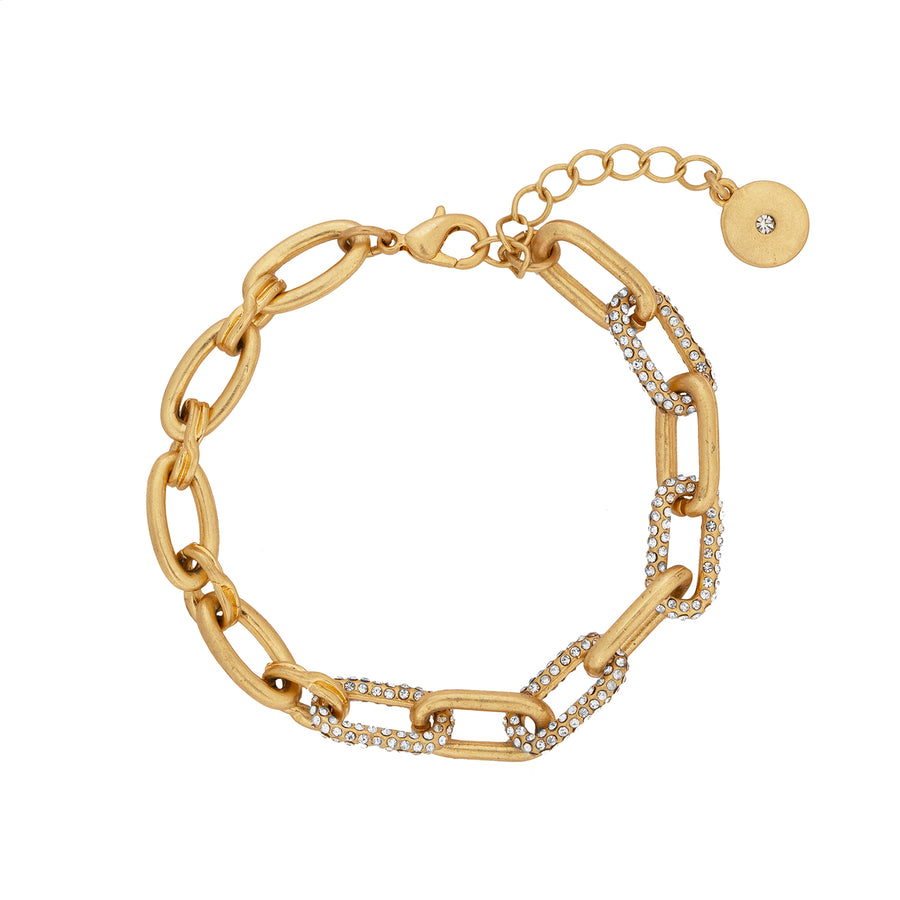 Kate Thornton Gold Chunky Link Chain Bracelet