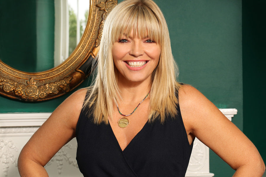 Kate Thornton 'You Are Enough' Gold Spinning Necklace