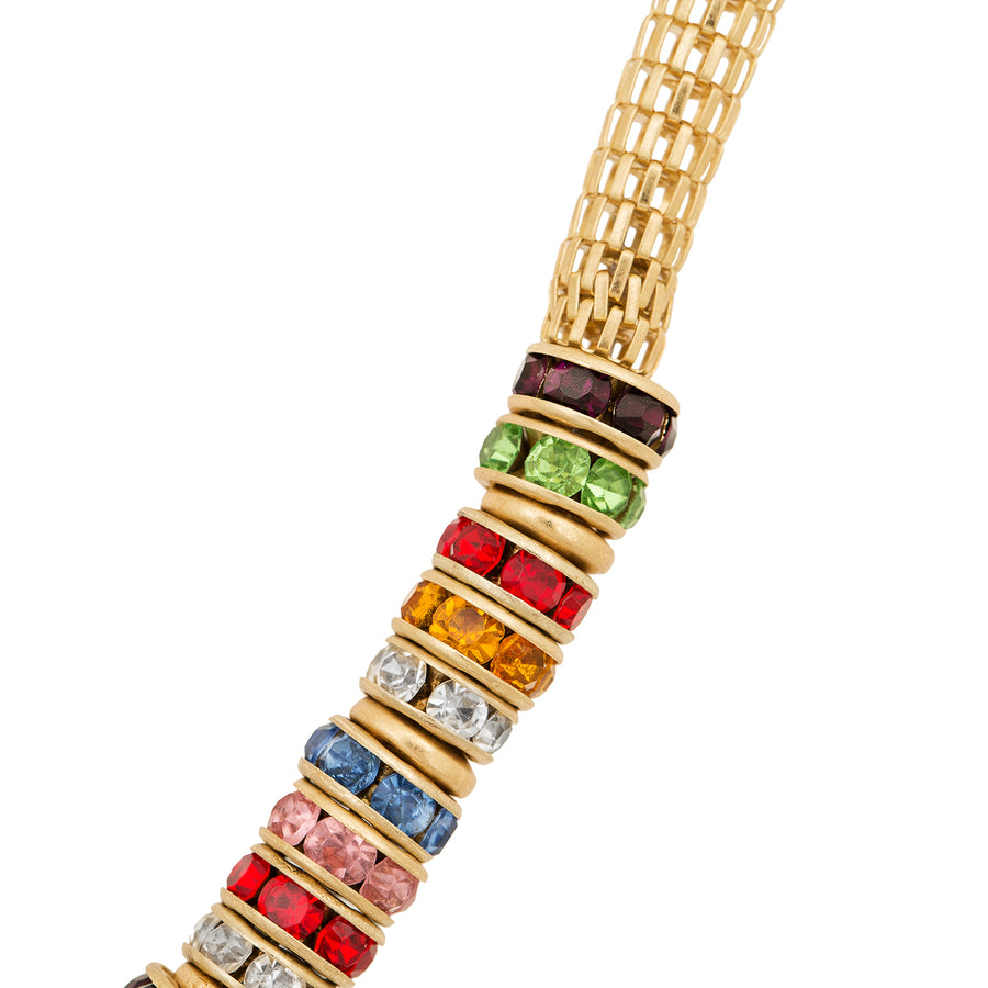 Kate Thornton Rainbow Disco Necklace