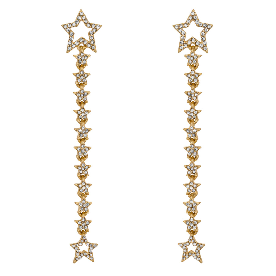Kate Thornton Gold 'Starlight' Multiway Earrings