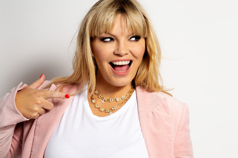 Kate Thornton 'Wonder Woman' Layered Gold Necklace