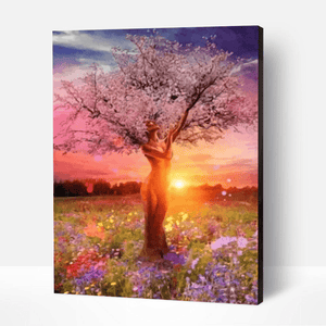 Mother Nature Tree Of Life Acrylic Painting