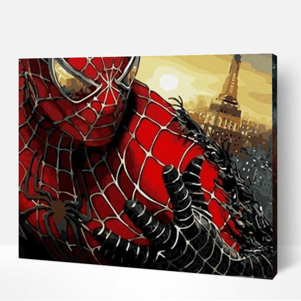 Spiderman Paint By Number