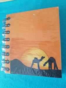 Mr. Ellie Pooh's Recycled Paper Note Book-Camel