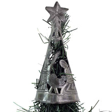 Load image into Gallery viewer, Christmas Tree with Nativity --Tree Topper (7 inch) - Croix des Bouquets