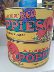 Red Alaskan Poppies -seeds