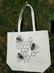 Bee Honeycomb Tote