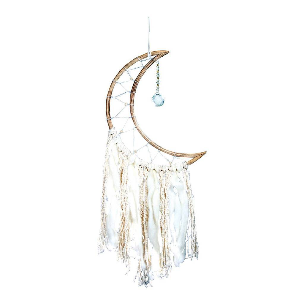 Small Moon Dream Catcher - DZI (Meditation)