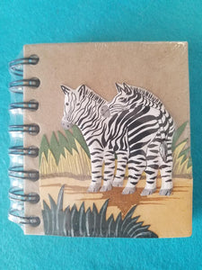 Elephant Poo Notebook- Flamingos
