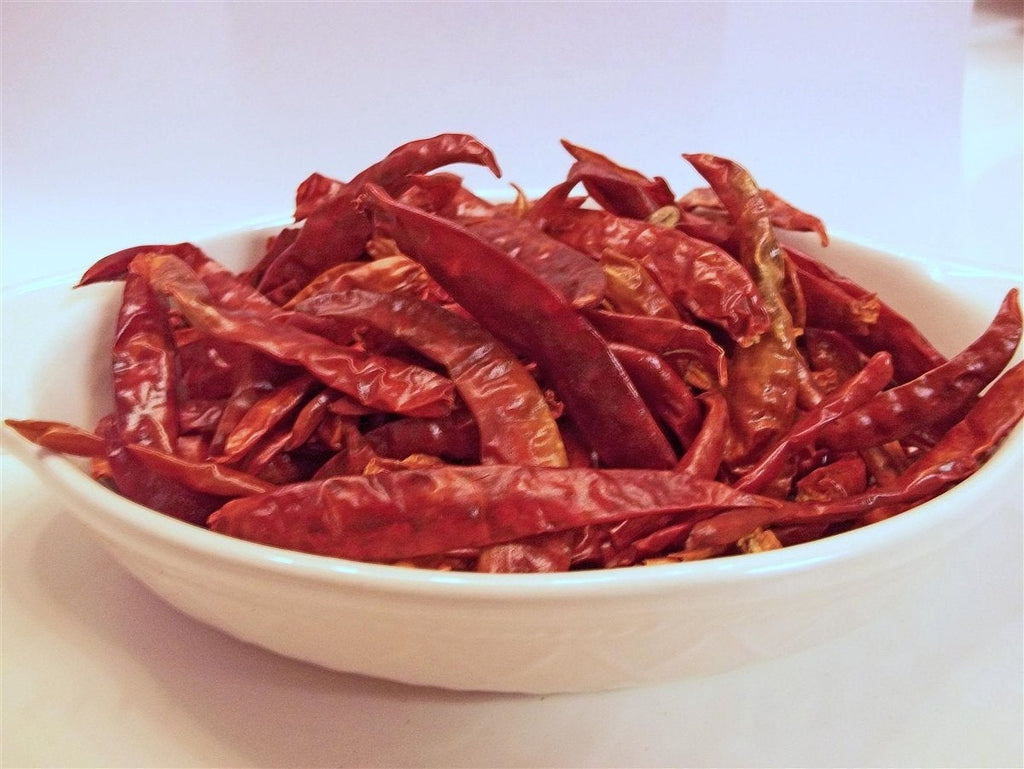Cayenne Pepper, Whole Dried, Organic,  Delicious Fresh Spicy Dried Herb