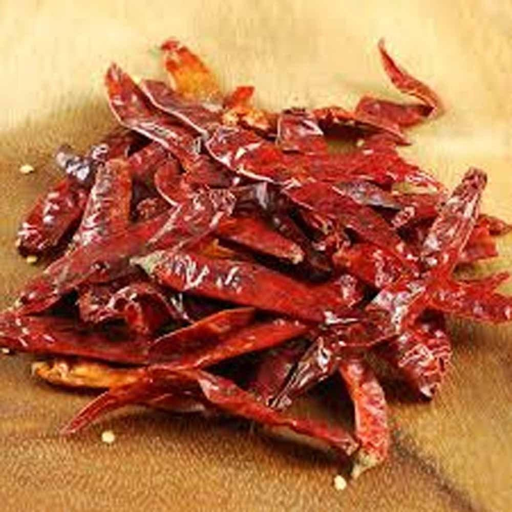 Japones Pepper, Whole Dried, Organic, 2 Oz, Delicious Fresh Spicy Dried Herb