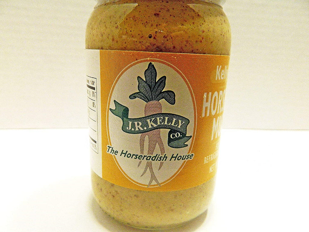 Kelly's Pride - 2 Pack Horseradish Sauce and Horseradish Mustard - 8 oz Jars