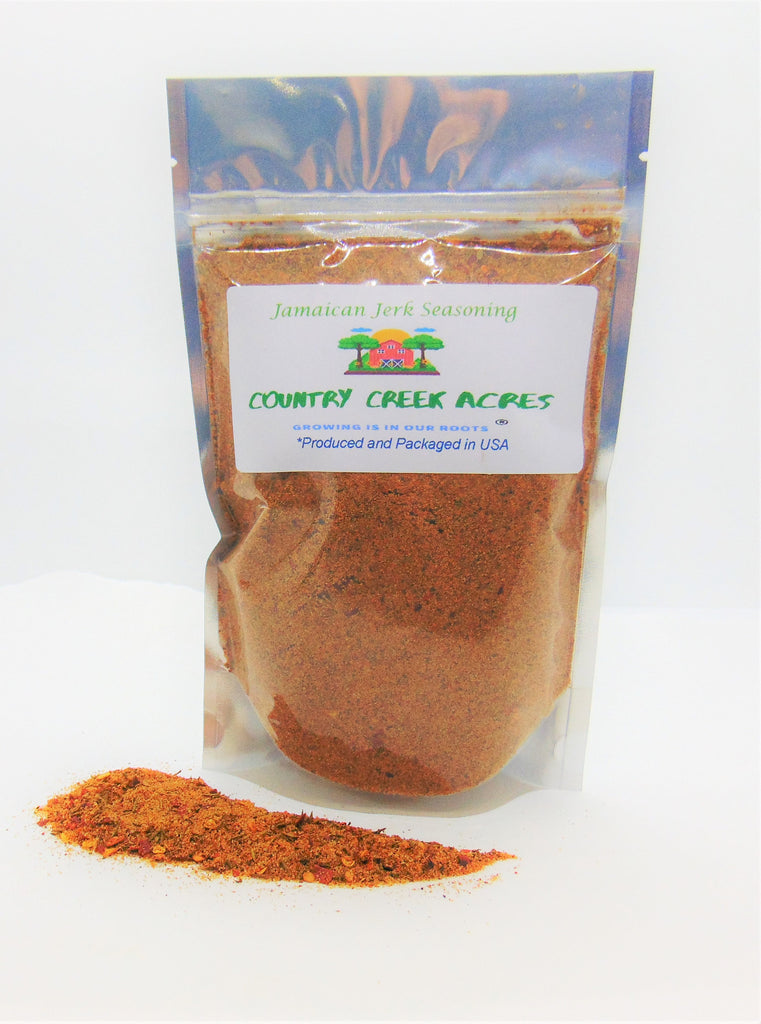 Jamaican Jerk Seasoning- Sweet Yet Smokey Notes, Complex Nutmeg, and Spices from Across The Globe. - Country Creek LLC
