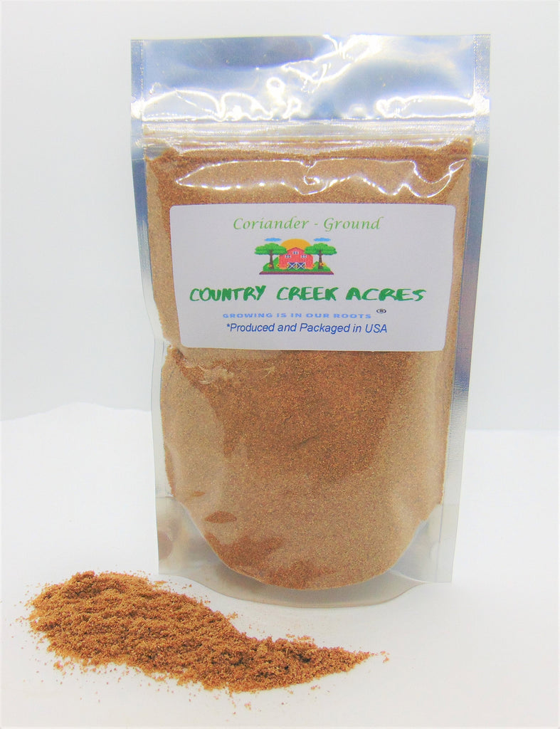 Ground Coriander Seasoning - A Delicious Seasoning with a Sweet Aromatic Taste- Country Creek LLC