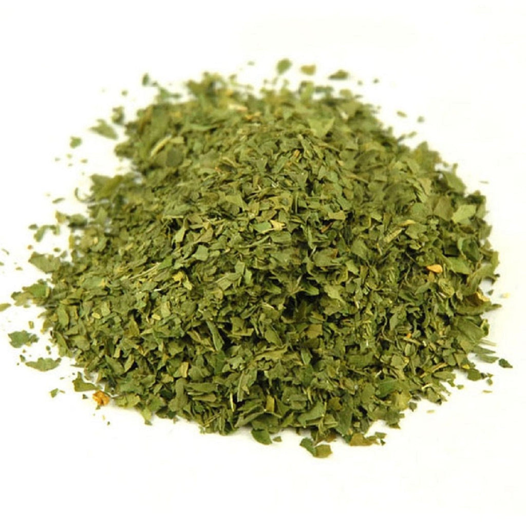 Parsley, Dried and Chopped Leaves - Parsley Leaves Make a Flavorful Additions to Salads, Soups and Side Dishes. - Country Creek LLC