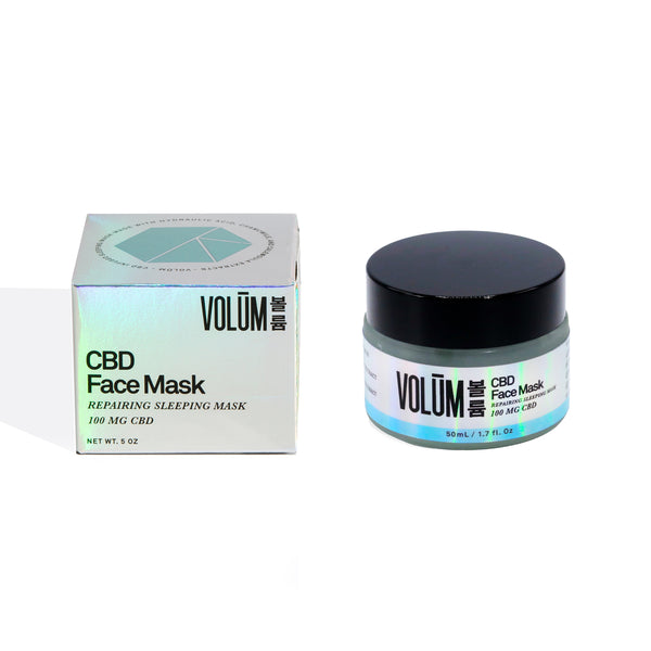 Face Mask - Repairing Sleep Mask - 100 MG CBD - volumcbd
