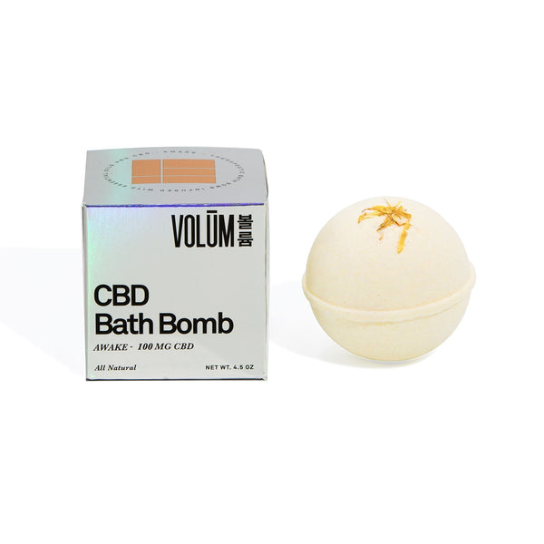 Awake Bath Bomb - 100 MG CBD - volumcbd