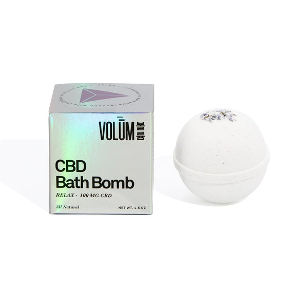 Relax Bath Bomb - 100 MG CBD - volumcbd