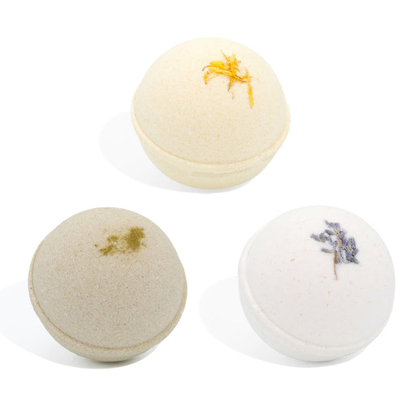 Trio Collection: Heal, Awake, and Relax Bath Bombs - volumcbd