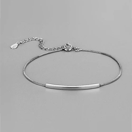 Silver Line Bracelet -Make the difference with Galatea Effect accesories