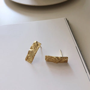 Handmade Rectangular Earrings -Make the difference with Galatea Effect accesories
