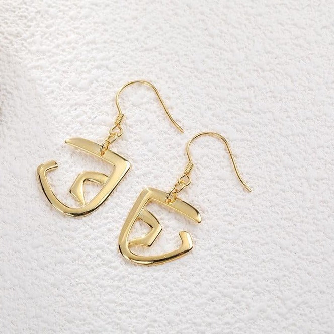 Geometric Hook Earrings -Make the difference with Galatea Effect accesories