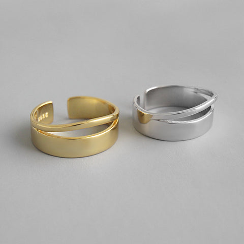 Minimalist Open Ring -Make the difference with Galatea Effect accesories