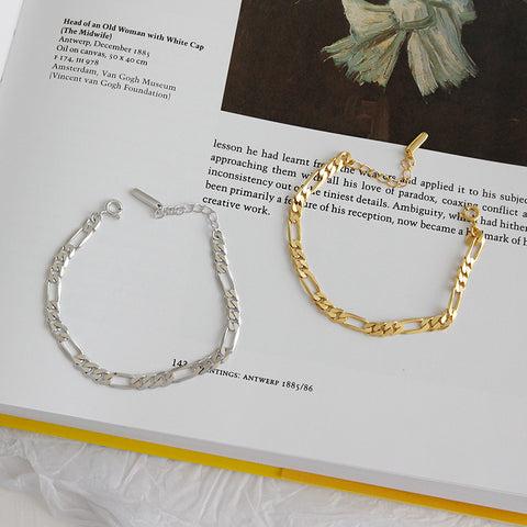 Flat Chain Bracelet -Make the difference with Galatea Effect accesories