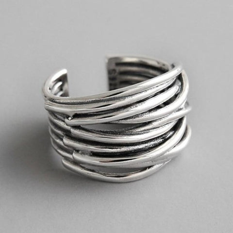 Multilayer Line Rings -Make the difference with Galatea Effect accesories