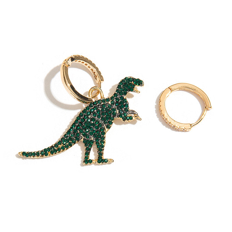 Dinosaur Hoop Earrings -Make the difference with Galatea Effect accesories