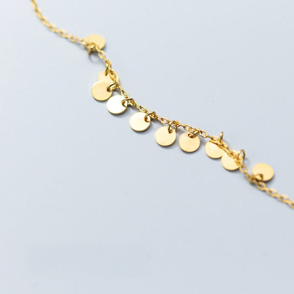 Golden Disk Bracelet -Make the difference with Galatea Effect accesories