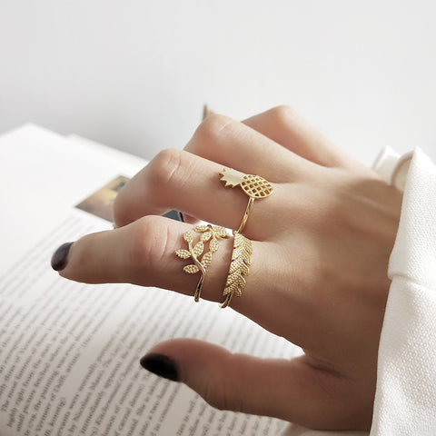 Sliver Wild Rings -Make the difference with Galatea Effect accesories