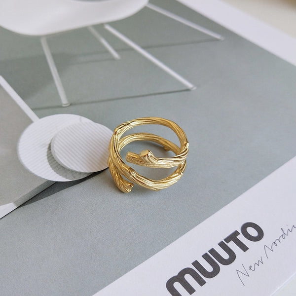Tree Branch Ring -Make the difference with Galatea Effect accesories