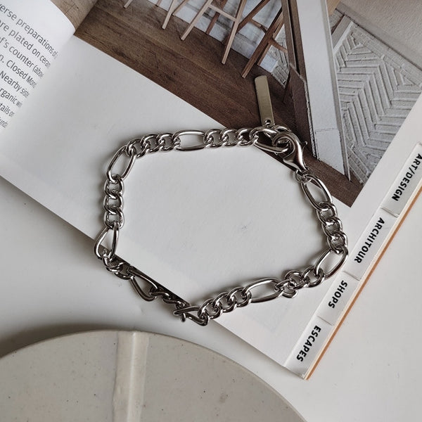 Silver / Golden Chain Bracelet -Make the difference with Galatea Effect accesories