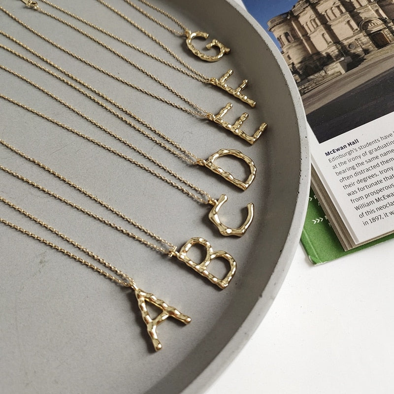 Letter necklace -Make the difference with Galatea Effect accesories