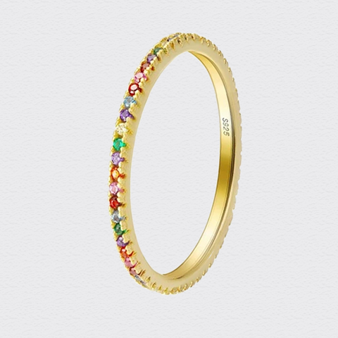 Rainbow Ring -Make the difference with Galatea Effect accesories