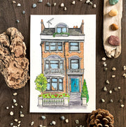 A Walk Through London (Original) | Watercolour Painting