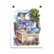 The Bent Mast Pub Print,[product_type] - Andie Laf Designs