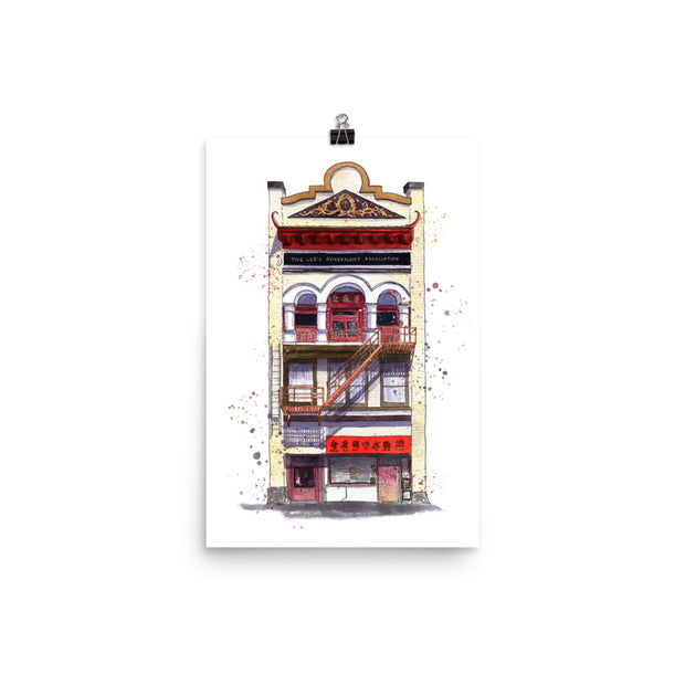 Downtown Chinatown Victoria Print,[product_type] - Andie Laf Designs