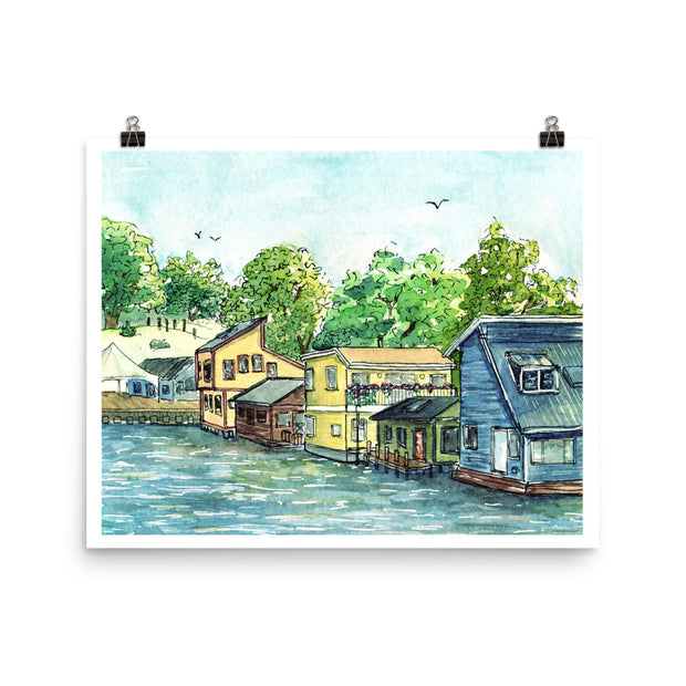 Fisherman's Wharf Print,[product_type] - Andie Laf Designs