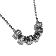 "BreatH ""DICE"" NECKLACE / SILVER"