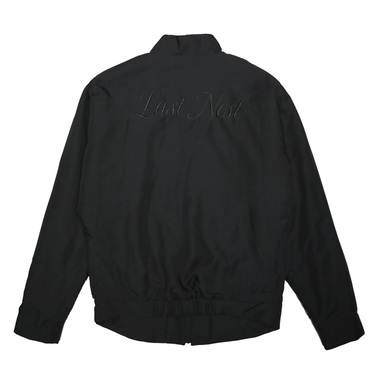 EMBROIDERY MA-1 / BLACK BLACK