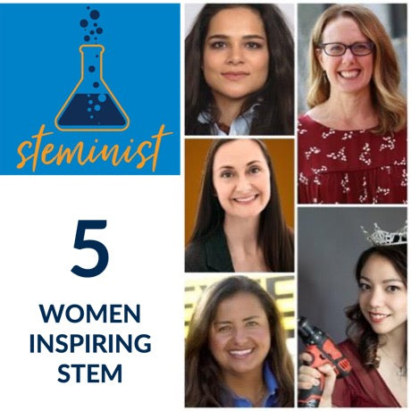 5 Women in STEM who Inspire
